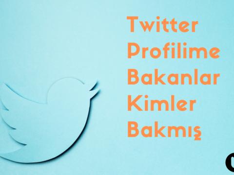 Twitter Profilime Bakanlar Kimler Bakmış