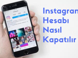 Instagram Hesabı Nasıl Kapatılır?