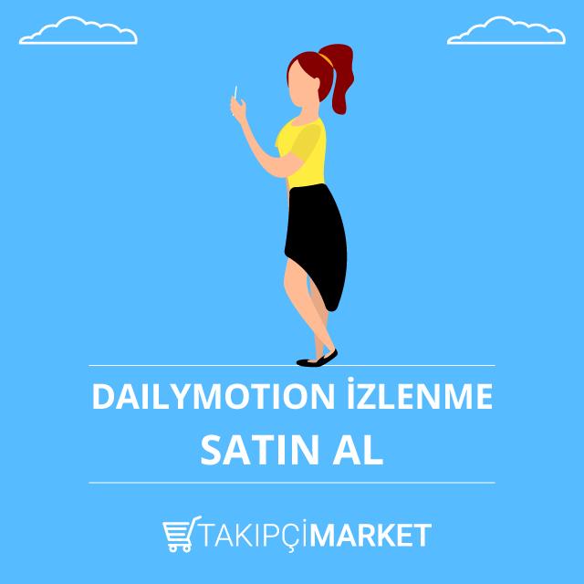 Dailymotion İzlenme Satın Al