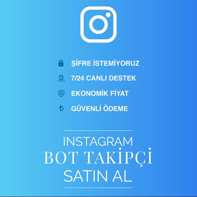 instagram bot takipçi al