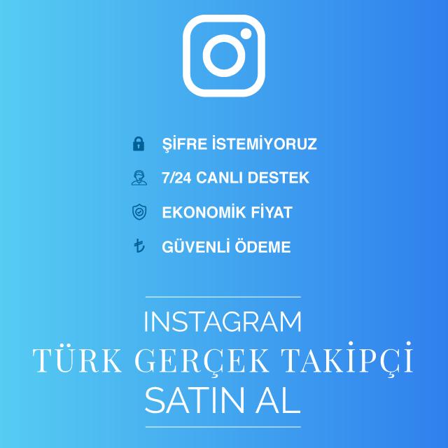 instagram türk gerçek takipçi satın al
