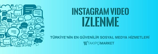 instagram video izlenme al