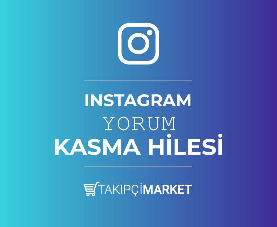 instagram yorum kasma hilesi