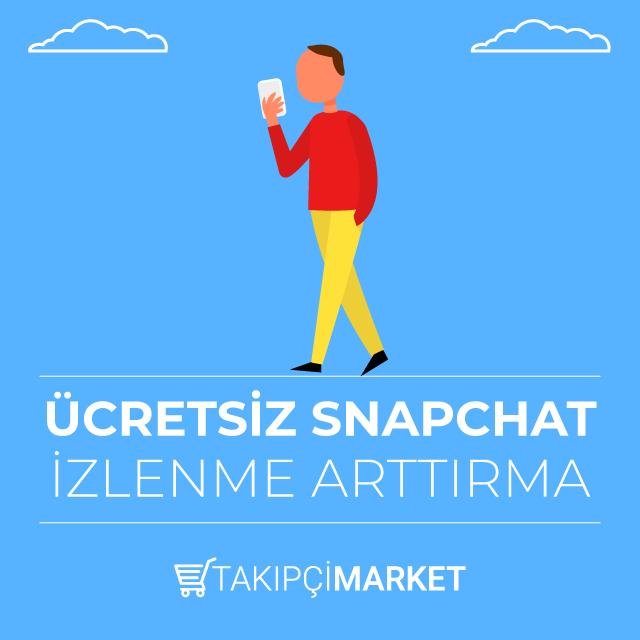 ücretsiz snapchat izlenme arttırma