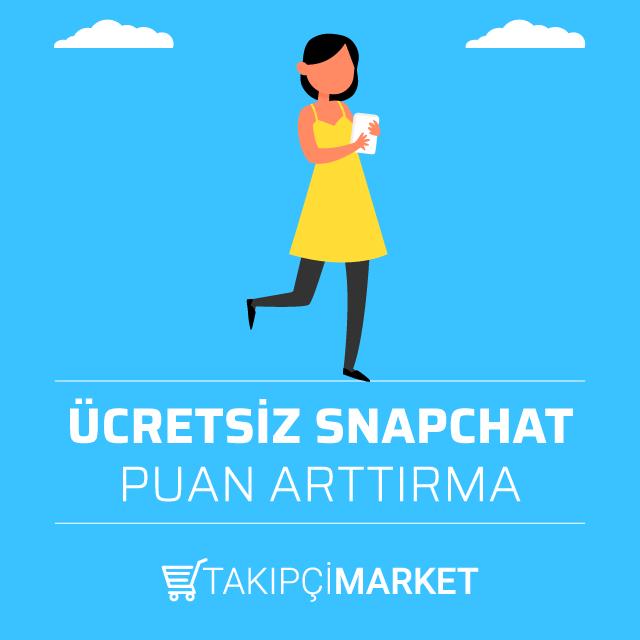ücretsiz snapchat puan arttırma