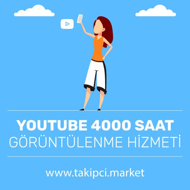 Youtube 4000 Saat Görüntülenme Hizmeti