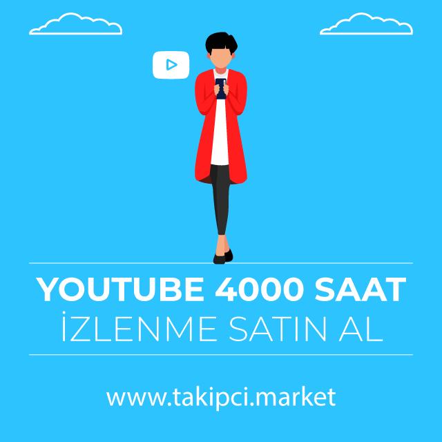Youtube 4000 İzlenme Satın Al